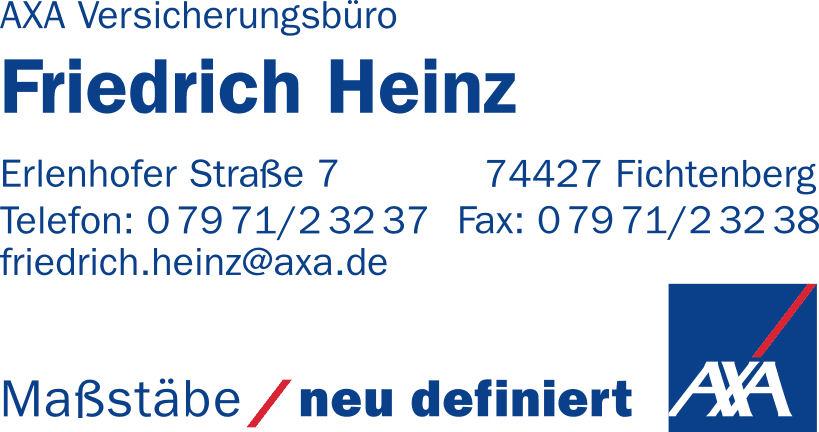 AXA Versicherungsbüro - Friedrich Heinz