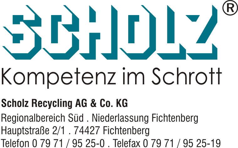 Scholz - Kompetenz in Schrott