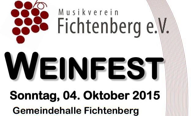 Plakat Weinfest 2015 Kopf